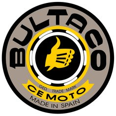 Bultaco motorcycle logo history and Meaning, bike emblem Bultaco Motorcycles, Enduro Motorcycle, Motorcycle Logo, Motorcycle Companies, Motorcycle Design, Vintage Bikes, Vintage Motorcycles, Vintage Cars, Cars And Motorcycles