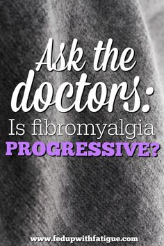 I asked fibromyalgia specialists around the country to weigh in on one question�