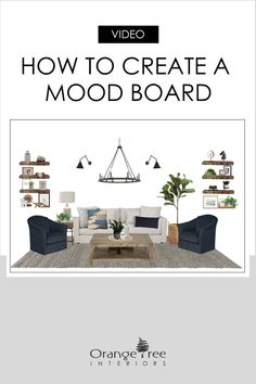 Watch this video to make sure you love what you have planned for your home decorating project. Creating a mood board upfront for your space will help save time and money in the long run. Minimalist Interior, Minimalist Decor, Minimalist Design, Affordable Home Decor, Affordable Furniture, Interior Design Tips, Interior Decorating, Decorating Ideas, Modern Farmhouse Interiors