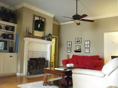 Sherwin Williams Rainwashed On Ceiling Relaxed Khaki Walls Possible Kitchen Color Paint