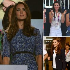 With the Olympics now over, I've enjoyed following Kate Middleton's fashion throughout the two-week period. The Duchess of Cambridge has been to tennis, cycling, swimming, handball, athletics, sailing, gymnastics and equestrian events plus official
