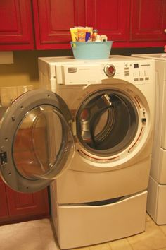 How to Clean a High Efficiency Washing Machine- Ask Anna