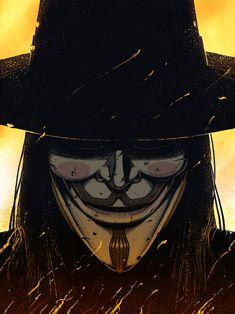 V for Vendetta-DC Cómics , Comic