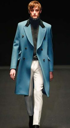 The Gucci Fall 2013 Men's Collection is a Luxurious Vision #coats #mensfashion trendhunter.com