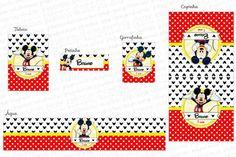 Kit Digital Mickey - Charme Papeteria #kitdigitalmickey #Mickey #festapersonalizada #kitfesta #kitfestadigitalmickey #turmadomickey #papelariapersonalizadamickey #rótulos