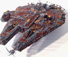 This Steampunk LEGO Millennium Falcon Is a Thing of Beauty