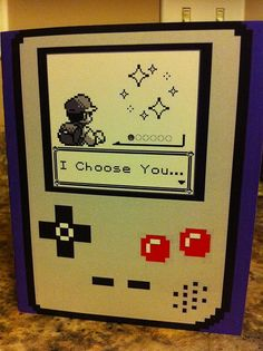 Great card for the geek girl/boy of your dreams.