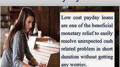 Low cost bad credit loans are arranging most reliable cash relief for poor creditor to tackle unplanned fiscal expenses without any troubles.