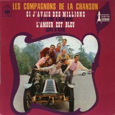 """Les Compagnons de la Chanson - """"L´amour est bleu"""", cover version of the luxembourg entry Eurovision Song Contest 1967"""