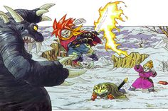 What was that? One of the best games of all time? Why yes, Chrono Trigger is.