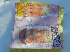 Elizabeth Bunsen handmade mixed media book