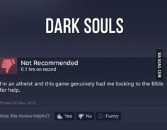 Just a Dark Souls review