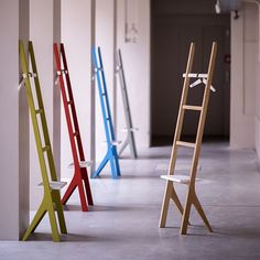 Ypsy Valet Stand in Natural Oak by Two.Six - Made Modern - 3