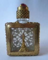 Image result for Czech perfume bottle brass ebay