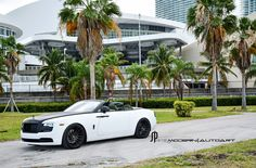 White Rolls Royce Dawn - ADV15 M.V2 CS Concave Wheels - ADV.1 Wheels White Rolls Royce, Rolls Royce Dawn, Luxury Auto, Luxury Cars, Concave, Ali, Wheels, Style, Cars
