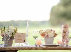 Color Me Beautiful: Woodsy Wedding - By Easton Events