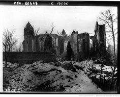 Ruines de l'église de Tilloloy : [photographie de presse] / Agence Meurisse | Gallica