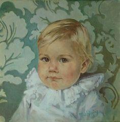 kinderportretten olieverf Prinses Alexia