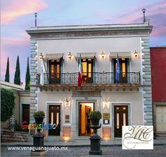 Villa Maria Cristina  Categoría Especial  Paseo de la Presa de la Olla, 76 #Hotel #Guanajuato #Mexico #VenaGuanajuato #TesorosdeMexico