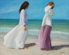 """'Gulf Colors"""" oil on canvas by Richard Segalman Expressive Art, Figure Painting, American Artists, Figurative Art, Oil On Canvas, Contemporary, Naples, Colors, Florida"""