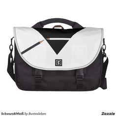 Schwarz&Weiß Notebook Taschen