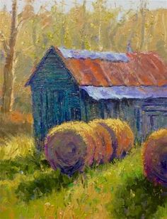 """Daily Paintworks - """"Afternoon Sun"""" - Original Fine Art for Sale - © Doug Gorrell"""