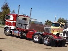 Image result for Old Semi Truck Pictures