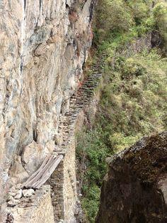 Peru: Hike to the Inka Bridge. So worth seeing!