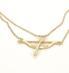 Jewelry >> Bow and Arrow necklace >> http://candystorecollective.com/collections/necklaces/products/bow-and-arrow-necklace