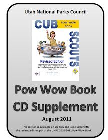 Akela's Council Cub Scout Leader Training: Utah National Parks Council Pow Wow Book Supplement 2011-2012 : Cub Scout Wolf, Bear, Webelos, Belt Loop Tracking Sheets Ideas