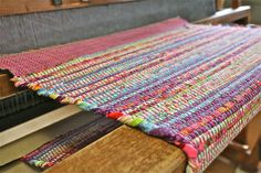 Rag Rug Weaving ~ Endless Possibilities with instructor Christie Rogers at John C. Campbell Folk School.   Visit us atwww.folkschool.org to find out more about our classes.