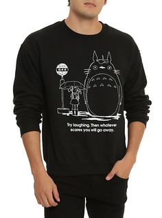 Studio Ghibli My Neighbor Totoro Crew Pullover | Hot Topic