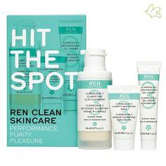 REN Skincare - ClearCalm 3 Kit Découverte Soin Visage Peaux à Imperfections  Un kit complet d'introduction à la ligne ClearCalm 3, soin visage naturel de REN qui permet de combattre les 3 causes de l'acné: l'excès de sébum, l'accumulation des cellules mortes et la prolifération des bactéries sans agression. 3 produits au format voyage - 18€ #REN #skincare #soinvisage #peau #acne #coffret #clearcalm #cosmetiques #impure www.officina-paris.fr