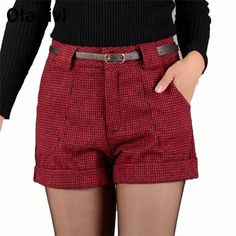 Find More Shorts Information about New Autumn Winter 2015 Fashion Women Wool Blends Plaid Short Pants Girl Casual Shorts Ladies Boot Cut Trousers Wholesale Retail,High Quality boots news,China boot stretcher Suppliers, Cheap boots low from Oladivi Group - Minabell Fashion Store on Aliexpress.com