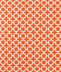 Swavelle / Mill Creek Outdoor Hockley Mandarin Fabric - $8.9 | onlinefabricstore.net
