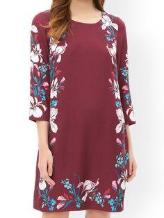MONSOON Silk Mix Claudette Print Dress.  UK12 EUR40  MRRP: £109.00GBP - AVI Price: £46.00GBP