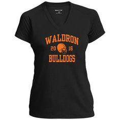 Ladies Waldron High School Bulldogs  Apparel
