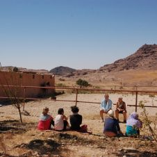Group session in Little Petra