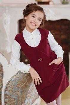 Школьные платья для девочек (56 фото): фартук, форма, для подростков