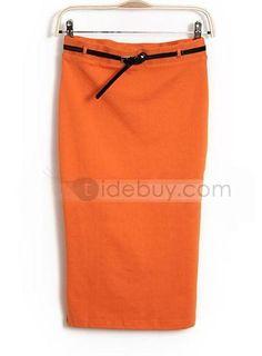 最新スリム弾性スカート