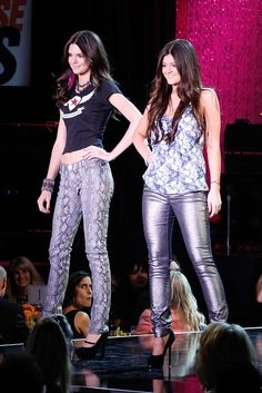 Kendall and Kylie Jenner at the Race to Erase MS Gala