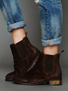 Moto Metal Ankle Boot