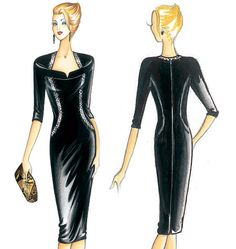 F3233, Marfy Dress