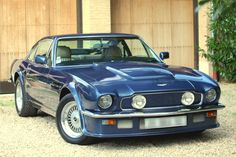 1982 Aston Martin V8 Vantage The '82 I owned was a Volante  (convertible ) in canteberry blue  (deep blue-purple), minus the fog lights. Princess Di had the exact same canteberry  Volante  at the time. ....RP