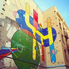 Sixe Paredes artwork. Barcelona.