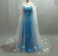 Disney Princess Frozen Queen Elsa Costume - all yours for the low, low price of £139.99!