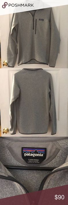 """Patagonia Better Sweater NWOT Tags cut but never worn! No flaws or issues just sat in the closet and hasn't been worn. Men's small but fits a women's small also. It's the """"athletic"""" fit so not super baggy. Patagonia Jackets & Coats"""