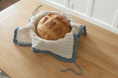 Crocheted Bread Warmer from Classic Kitchen Crochet