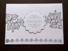"Stampin up Set "" Bordering on Romance """