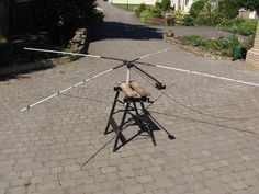 Homebrew Cobweb Antenna
